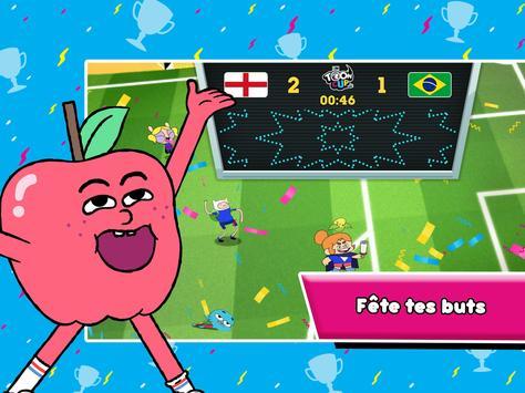 Toon Cup - Le jeu de foot de Cartoon Network capture d'écran 21