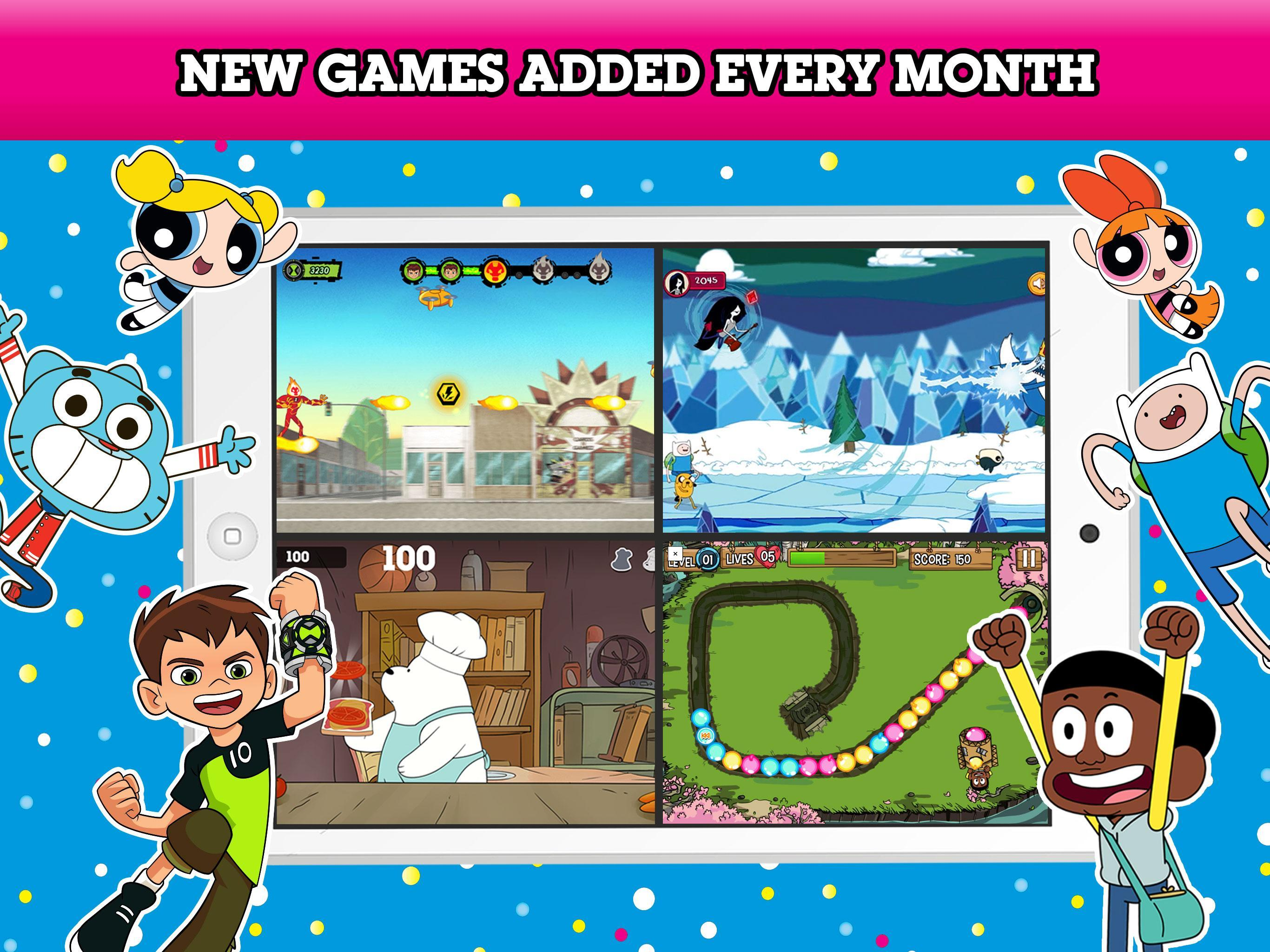 Cartoon Network Gamebox Free Games Every Month For Android Apk Download