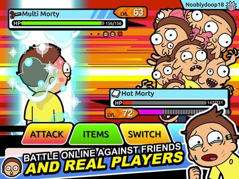 Rick and Morty: Pocket Mortys screenshot 14