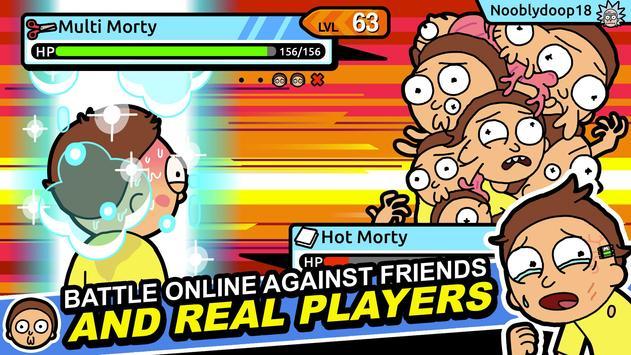 Rick and Morty: Pocket Mortys screenshot 8