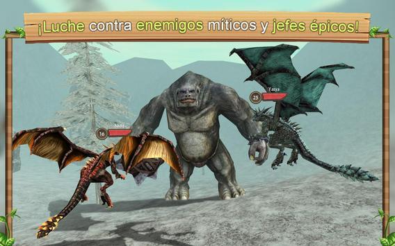 Simulador de Dragón Online captura de pantalla 4