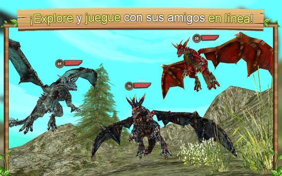 Simulador de Dragón Online captura de pantalla 3
