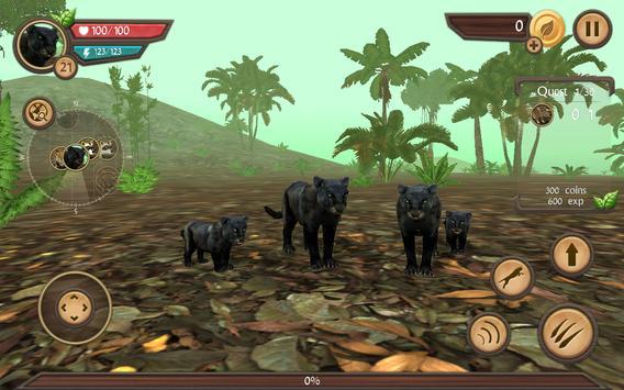 Wild Panther Sim screenshot 3