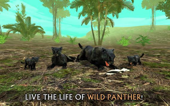 Wild Panther Sim poster