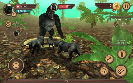 Wild Panther Sim screenshot 12