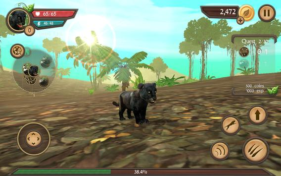 Wild Panther Sim screenshot 13