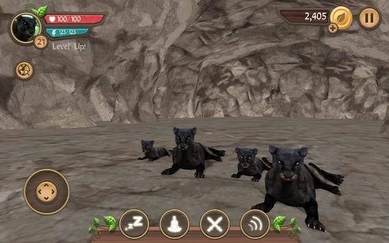 Wild Panther Sim screenshot 15