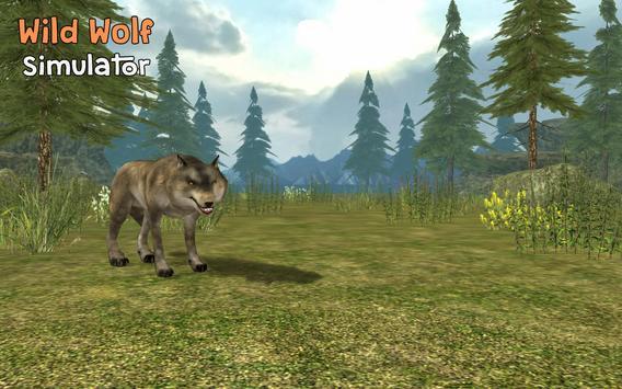 Wild Wolf Simulator 3D poster