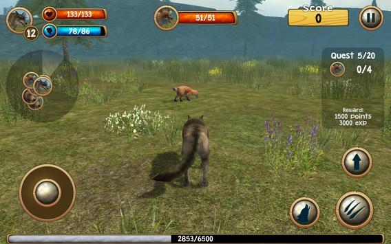 Wild Wolf Simulator 3D screenshot 11