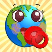 Baby Worlds | Su primera app 圖標