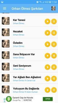 Orhan Ölmez Şarkıları - İnternetsiz screenshot 4