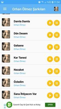 Orhan Ölmez Şarkıları - İnternetsiz screenshot 2