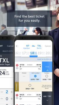 Turkish Airlines تصوير الشاشة 1
