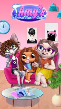 Amy's Animal Hair Salon - Cat Fashion & Hairstyles poster