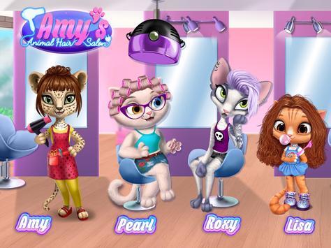 Amy's Animal Hair Salon - Cat Fashion & Hairstyles screenshot 12