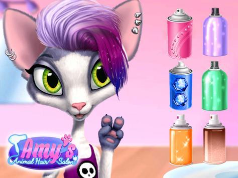 Amy's Animal Hair Salon - Cat Fashion & Hairstyles screenshot 15