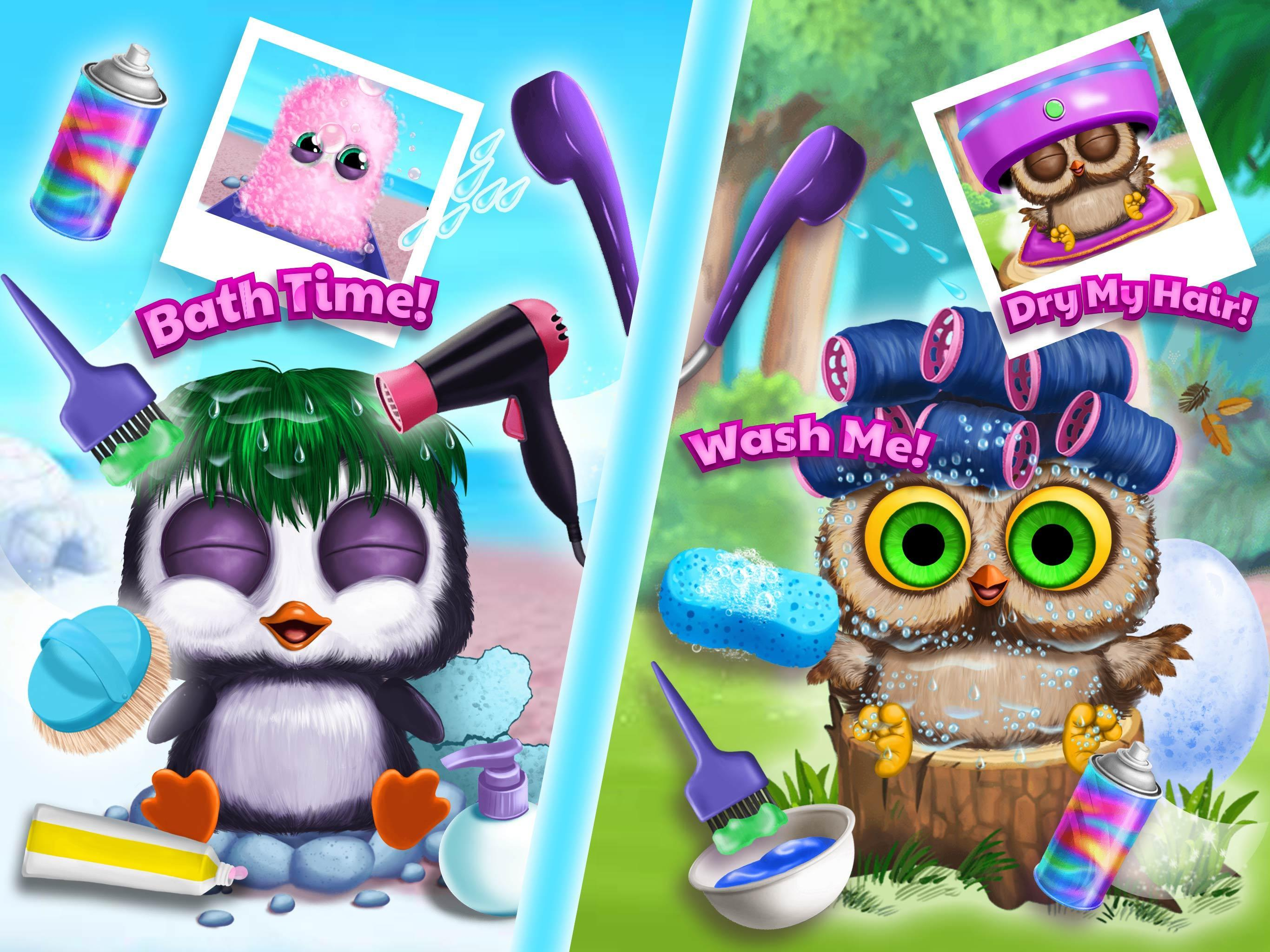 Baby Animal Hair Salon 3 For Android Apk Download
