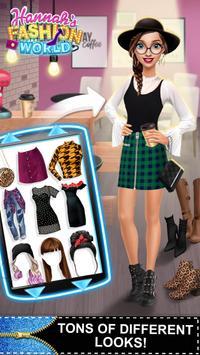 Hannah's Fashion World - Dress Up & Makeup Salon screenshot 7