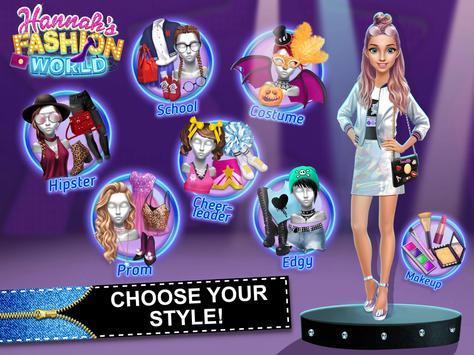 Hannah's Fashion World - Dress Up & Makeup Salon screenshot 8