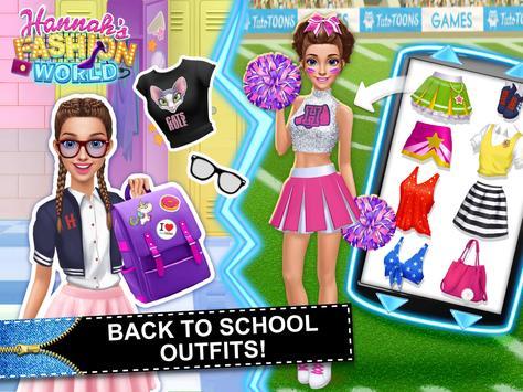 Hannah's Fashion World - Dress Up & Makeup Salon screenshot 22