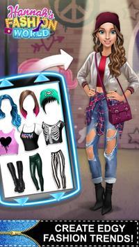 Hannah's Fashion World - Dress Up & Makeup Salon screenshot 3