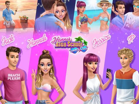 Hannah's High School Summer Crush - Teen Date screenshot 16