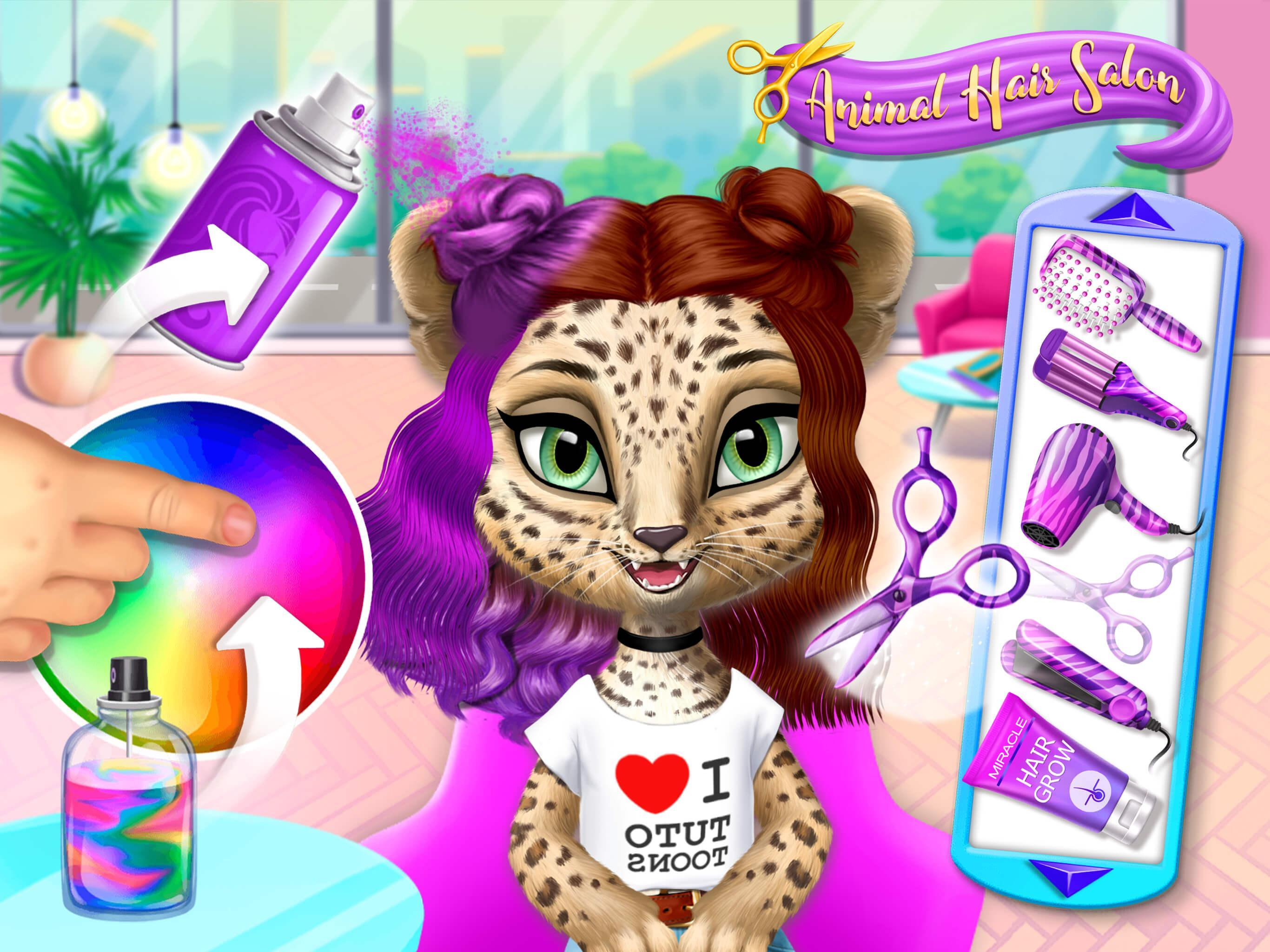 My Animal Hair Salon New Pet Beauty Makeovers For Android Apk Download