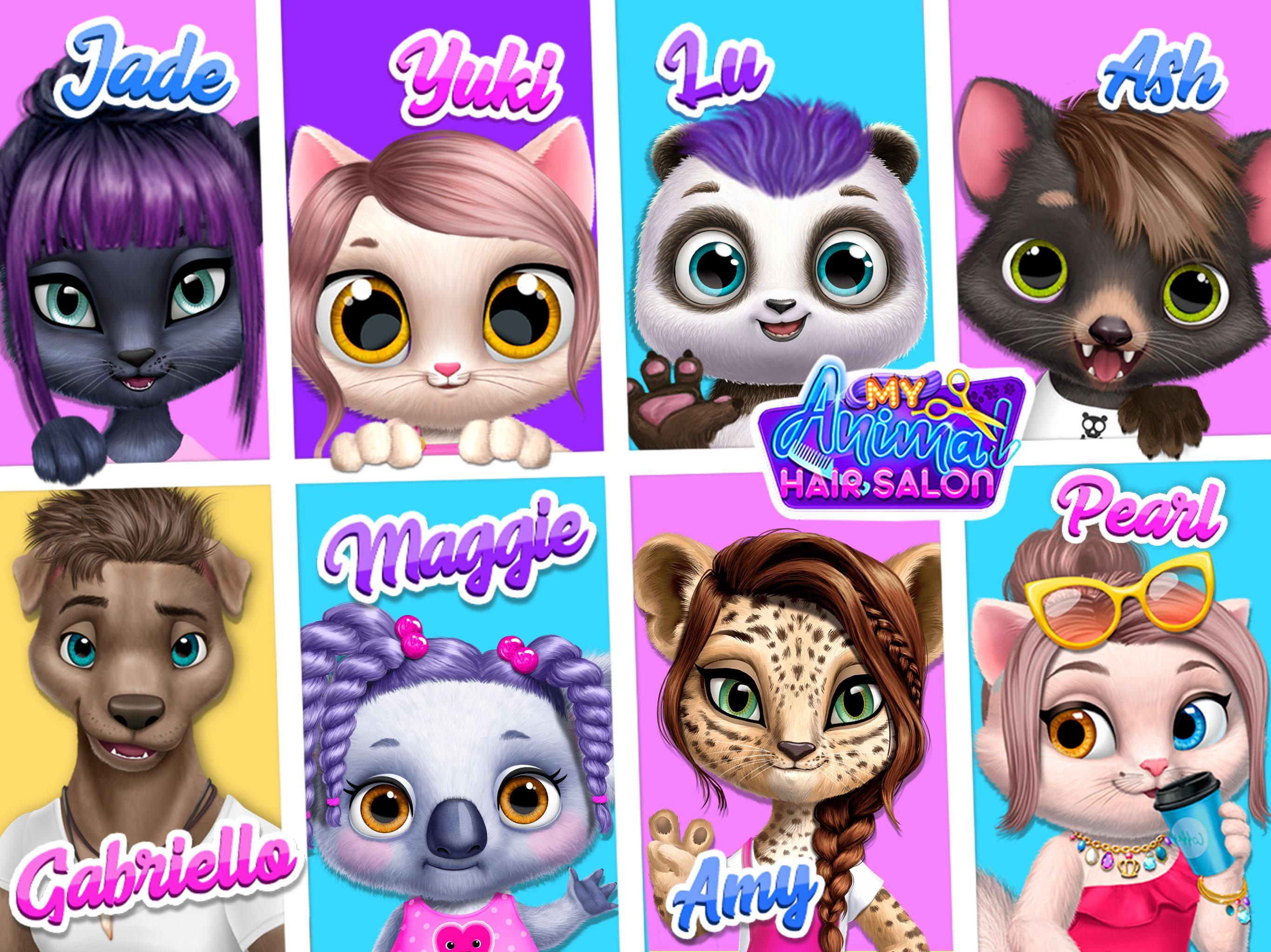 My Animal Hair Salon Style Create Experiment For Android Apk Download