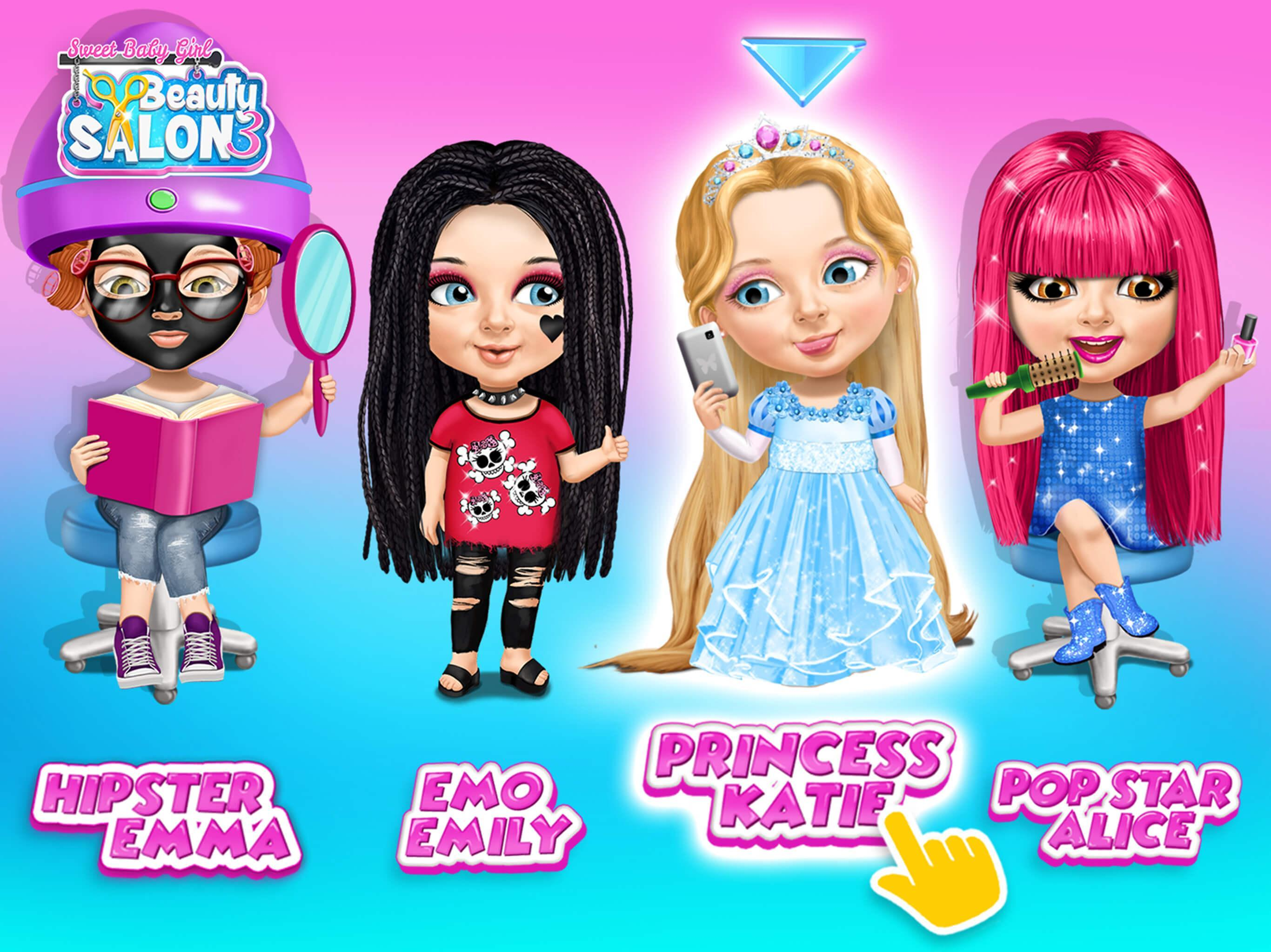 Sweet Baby Girl Beauty Salon 3 Hair Nails Spa For Android Apk Download