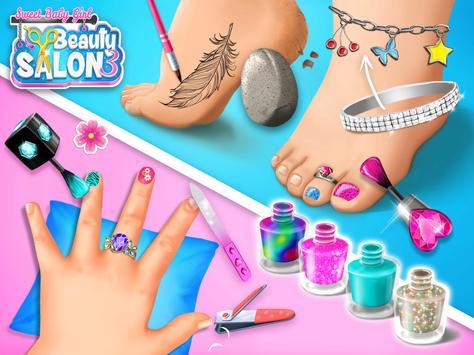 Sweet Baby Girl Beauty Salon 3 - Hair, Nails & Spa screenshot 22