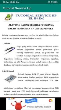 Belajar Service Hp Lengkap screenshot 2