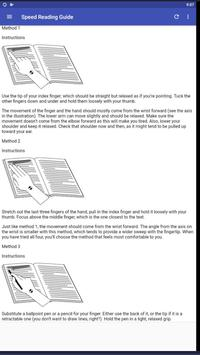 Speed Reading Guide screenshot 11