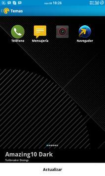 [CM11 THEME] Amazing10 Dark screenshot 2