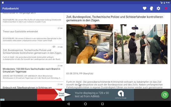 Polizeibericht screenshot 10