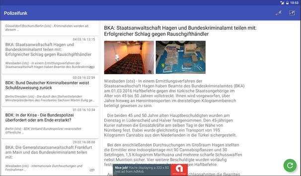 Polizeibericht screenshot 12