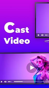 EasyCast - cast phone to tv, Roku, Fire TV, Xbox poster