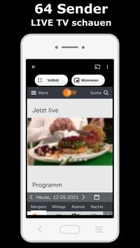 LIVE TV Screenshot 1