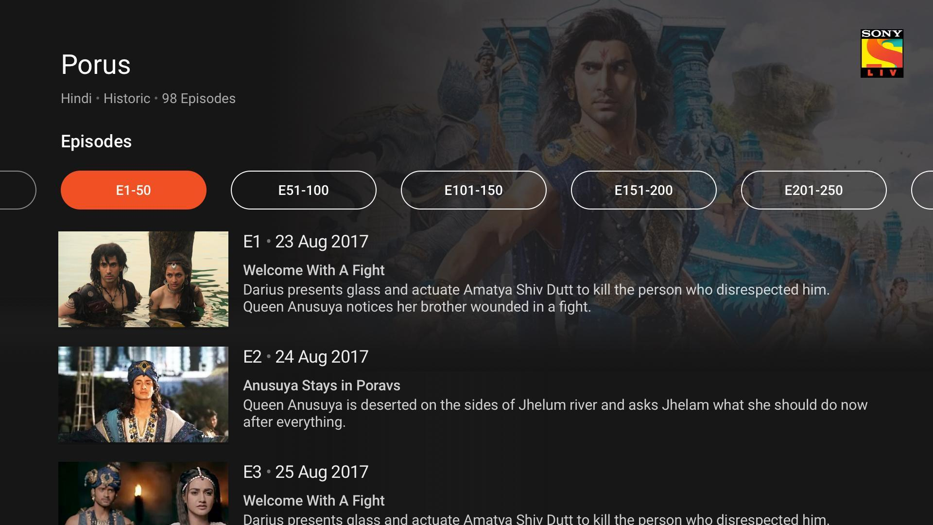 SonyLIV - TV Shows, Movies & Live Sports Online TV for Android - APK