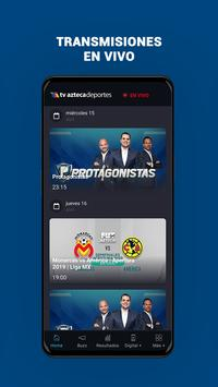 Azteca Deportes captura de pantalla 4