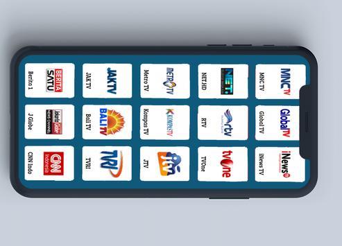 TV Hemat Kuota - Tanpa Buffer Indonesia screenshot 1