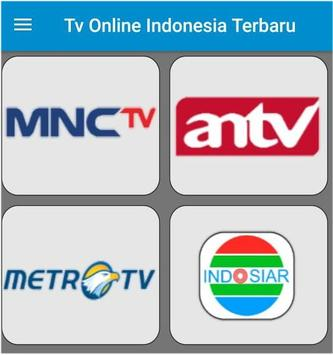 On line Tv Indonesia poster