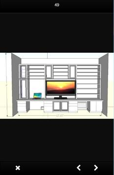 tv rack design screenshot 4