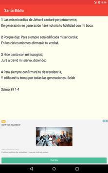 Santa Biblia screenshot 18