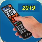 Remote a distance tv icon