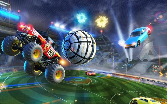Rocket Car Soccer league - Super Football Cartaz