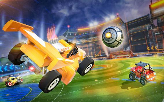 Rocket Car Soccer league - Super Football imagem de tela 11