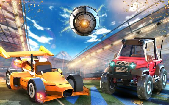 Rocket Car Soccer league - Super Football imagem de tela 1