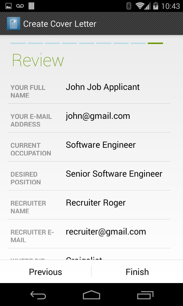 Cover Letter Maker For Android Apk Download