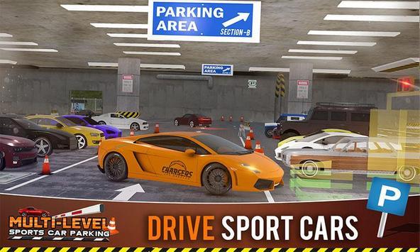 Multi-storey Sports Car Parking Simulator 2019 screenshot 4