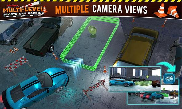 Multi-storey Sports Car Parking Simulator 2019 screenshot 6